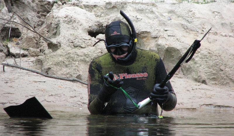 Подводная охота в чувашии